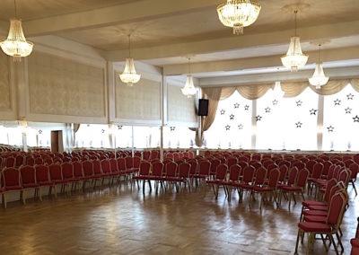 Konference opstilling 150 Spejlsalen